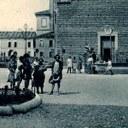 Der Boden des Piazzas Garibaldi