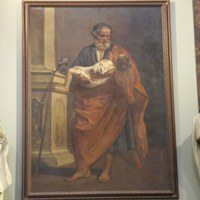 Das Gemälde des Sankt Josef's