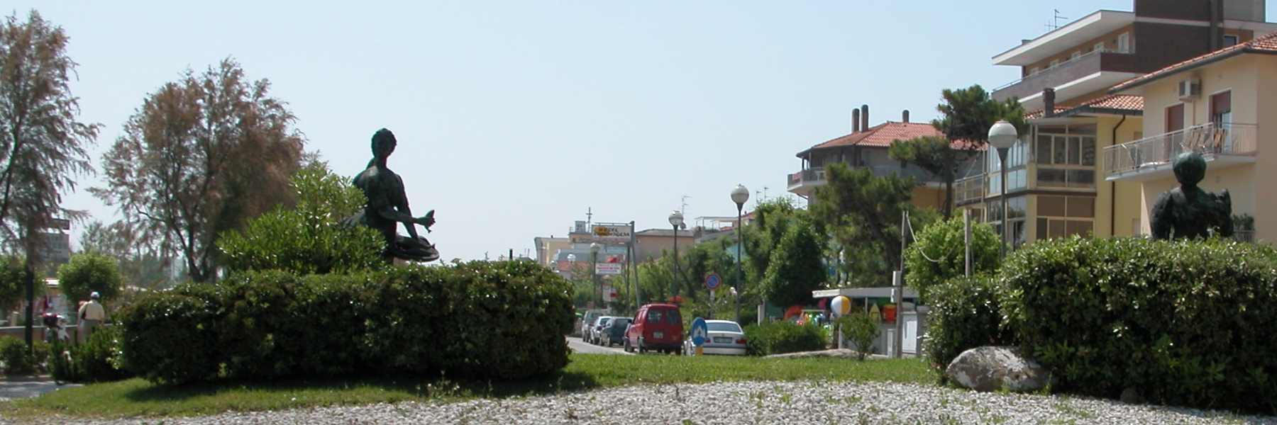 Das Monument der Grazia Deledda
