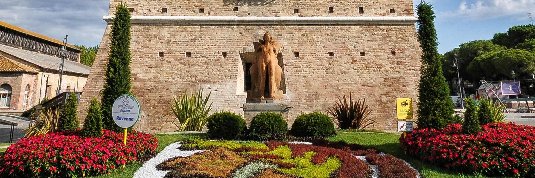 Die Statue der Thalàtta