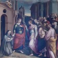 Die Tafel der Beata Chiara di Rimini