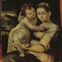 Die Tafel der Madonna della Neve von B. Longhi