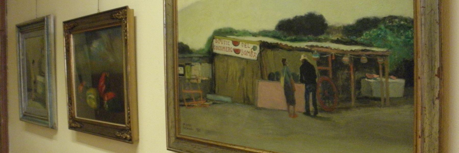 Dauerausstellung von Maceo Casadei
