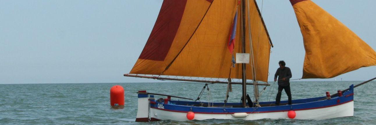Historischer Bootsausflug