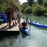 Ausflüge mit dem Kanu