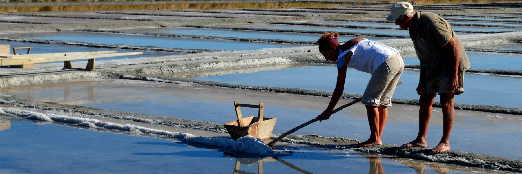 Salinenarbeiter für einen Tag