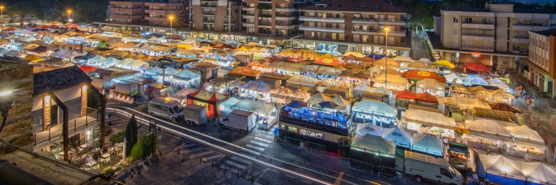 Europäischer kleiner Markt