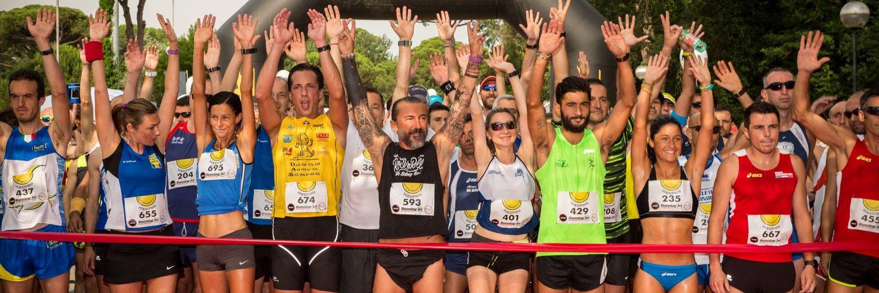 Running in Milano Marittima