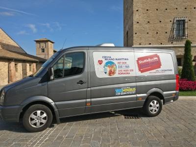 Taxi Minibus - navetta stazione Cesena DE - 400