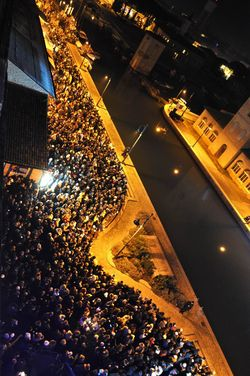 Neujahr in Cervia und Milano Marittima, Kanal