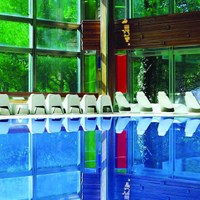 Schwimmbad in Thermen Cervias