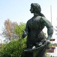 Grazia Deledda Monument