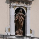 The Madonna Assunta Statue - Town Hall