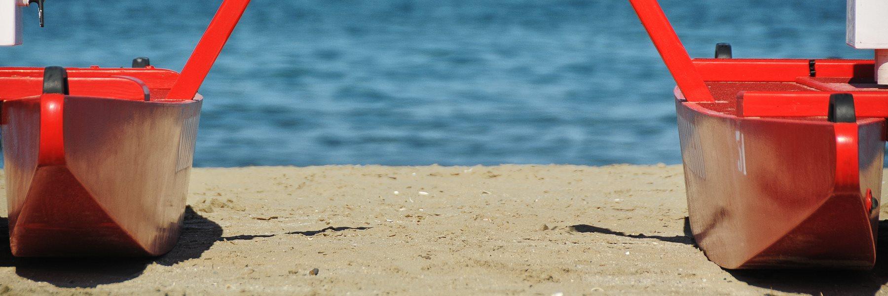Cervia's safe beach