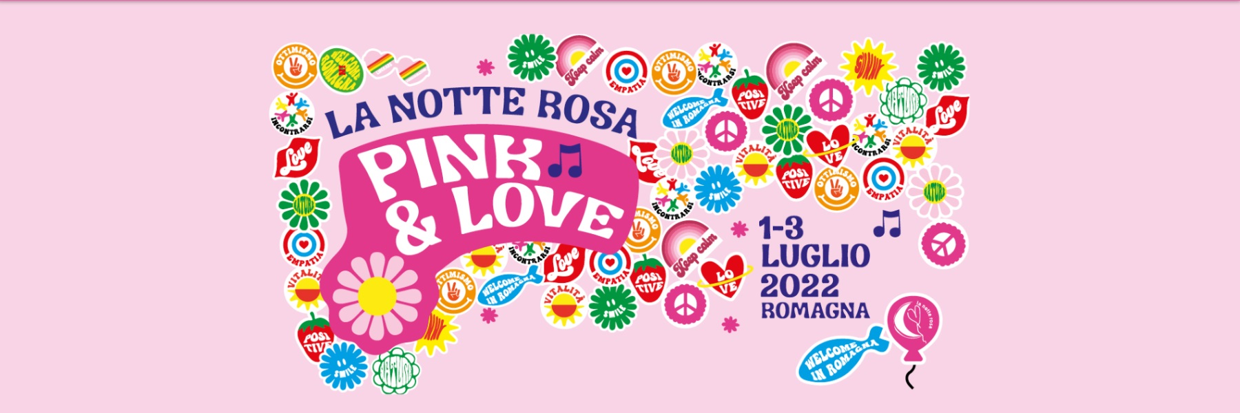 Pink Night in Cervia, Pink Week