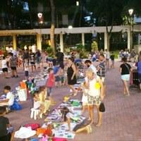 Children's market in Tagliata