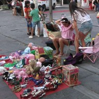 Children's market in Cervia