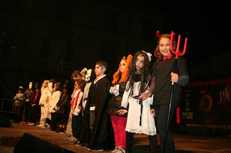 Halloween, children