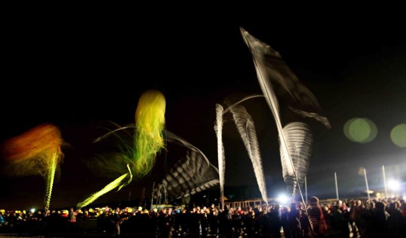 International Kite Festival, night fly