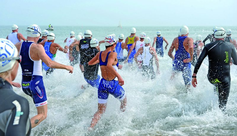 Ironman, swim course