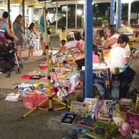 Marché pour les enfants a Pinarella
