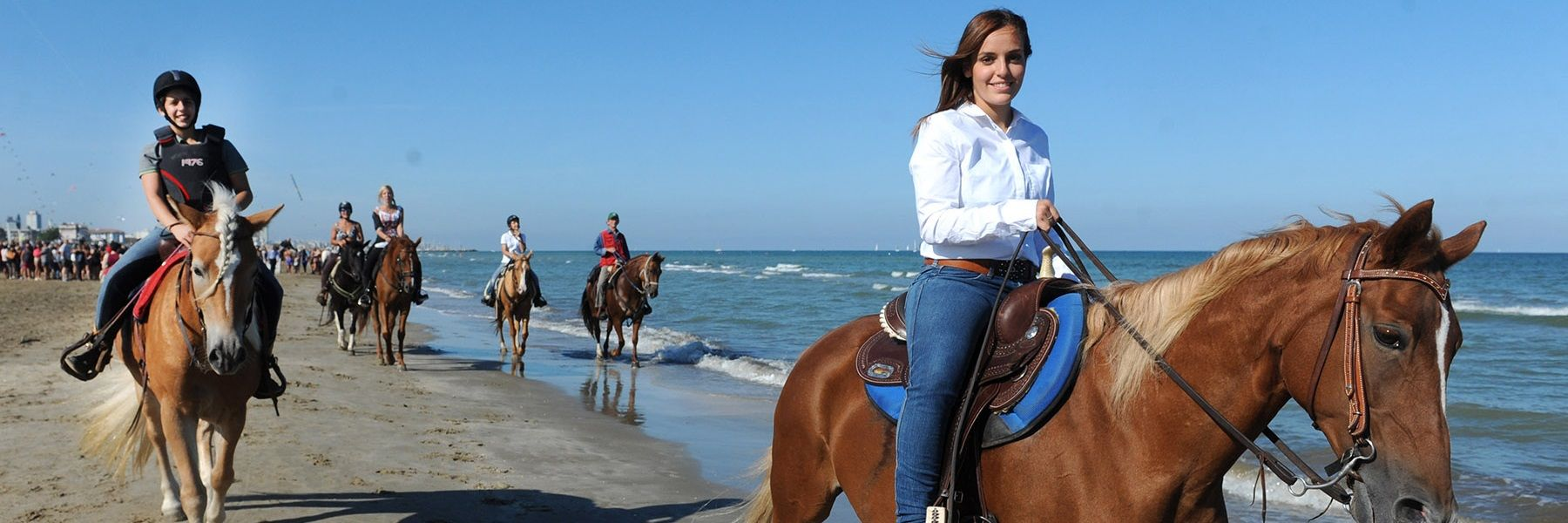À cheval de la Mer