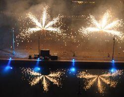 Le premier à Cervia et Milano Marittima, feux d'artifice