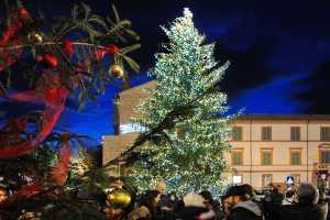 Weihnachten in Cervia, Piazza Garibaldi - Ph. ph. Istvan Bikfalvi