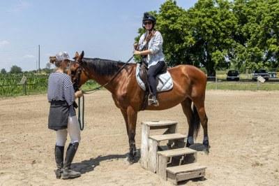Horse riding experience - Ph. Gruppo fotografico cervese
