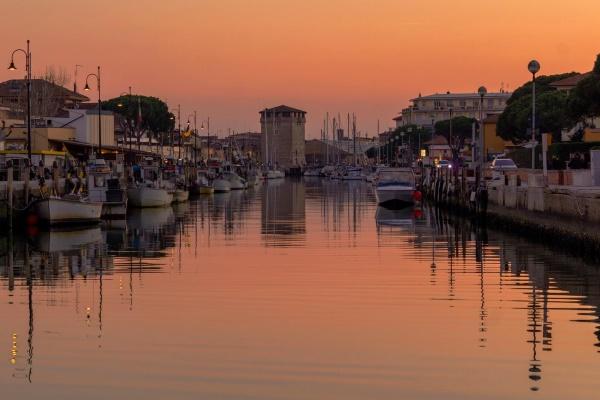 Porto canale di Cervia, ph. Eda Dauti