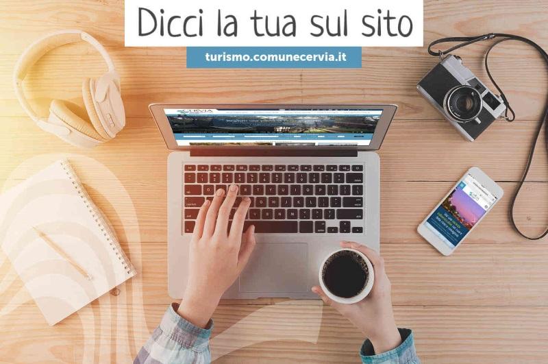 Dicci la tua sul sito, compila il questionario online - Ph. Archivio Visit Cervia Milano Marittima