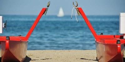 L'estate che ti aspetta, mosconi di salvataggio - Ph. Maurizio Dolci