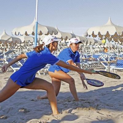 Beach tennis, coppia