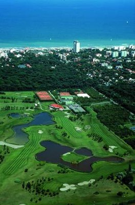 Golf, veduta dall'alto