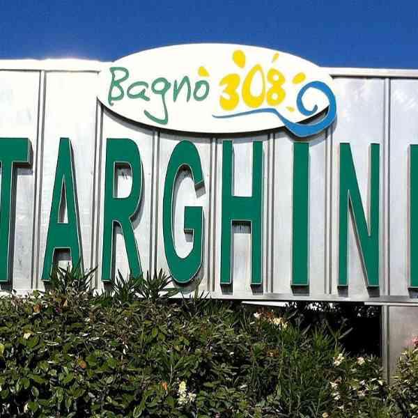 Milano Marittima, Etablissement Balnéaire  Targhini 308