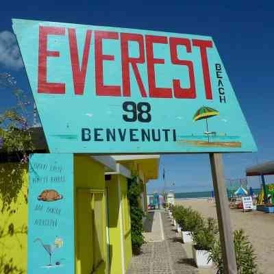 Pinarella,Everest bathing centre, 98
