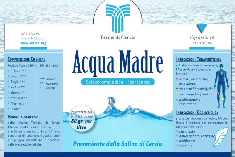 Acqua madre, etichetta