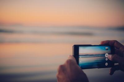 Foto al mare