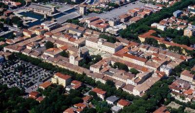 Quadrilatero, centro storico di Cervia