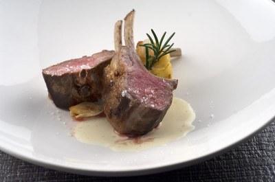 Lamb loin in Cervia salt - Ph. Mauro Foli