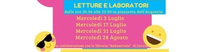 Laboratori Tagliata, programma 2019