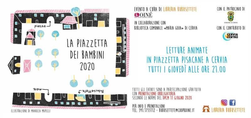 La Piazzetta dei bambini, locandina 2020
