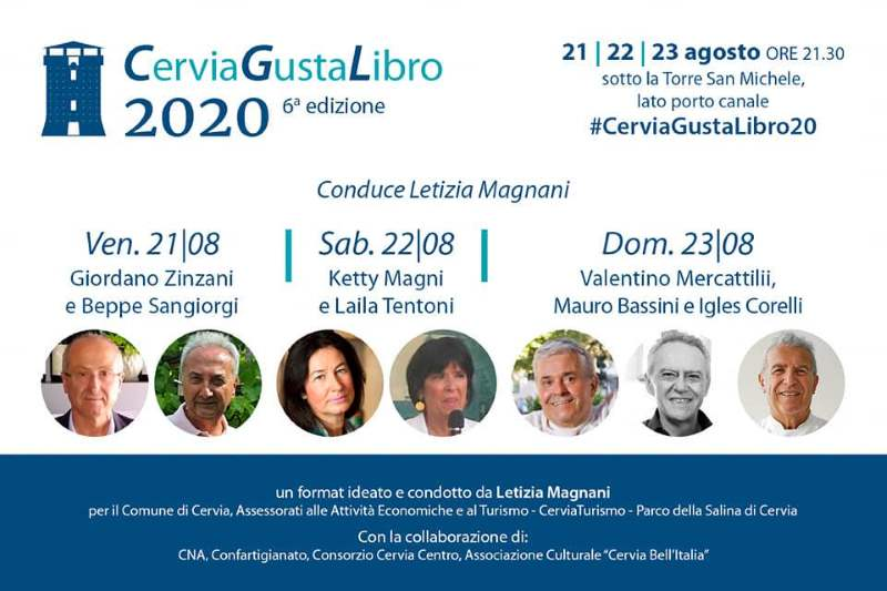 Cervia GustaLibro, cartolina 2020