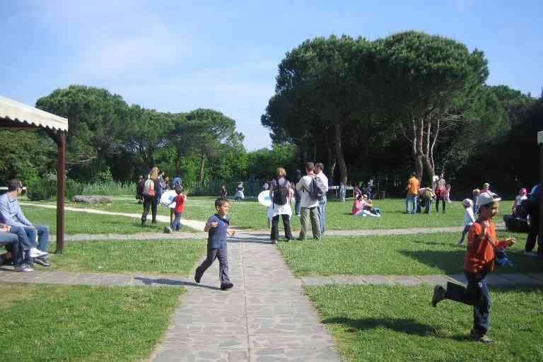 Allegramente Dante, giardino Casa delle Farfalle