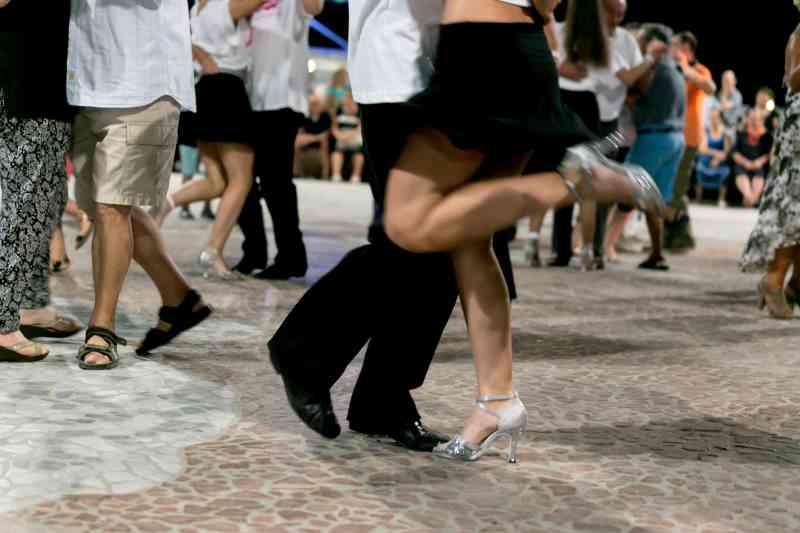 Danza per la città, ballerini di liscio