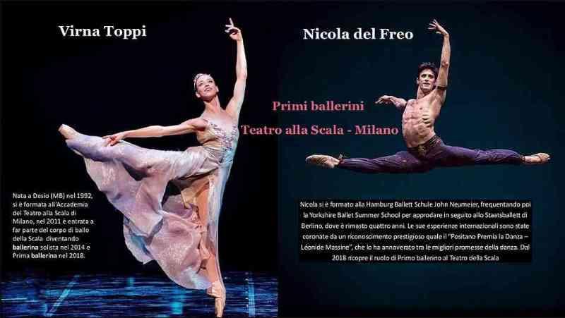 spettacolo Carla Fracci mon amour Virna Toppi Alessandro del Feo