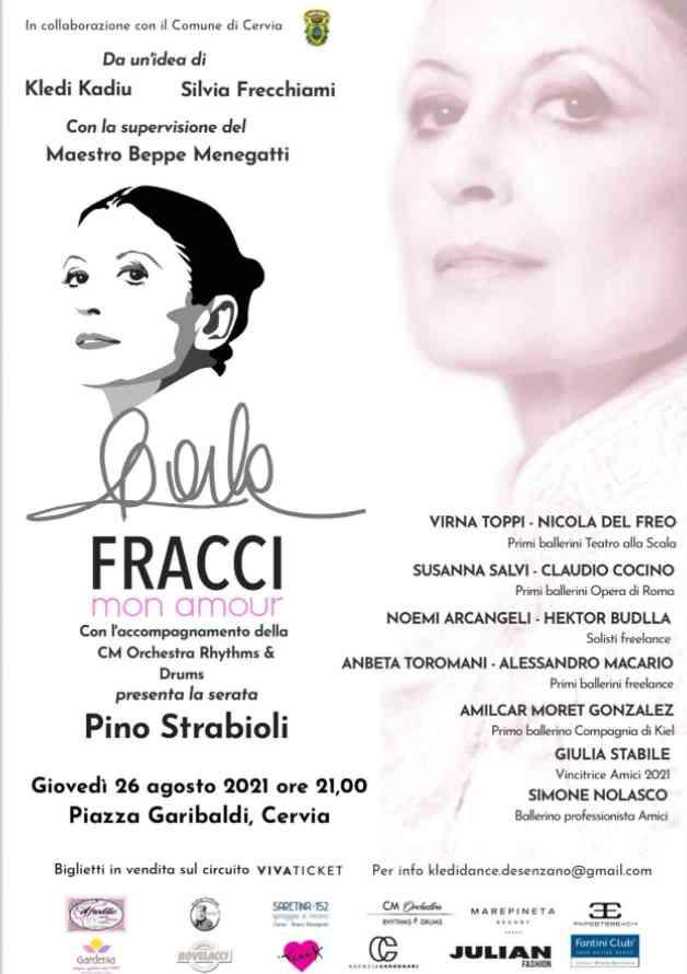 DID MiMa Summer Edition, locandina Carla Fracci mon amour