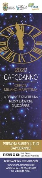 Capodanno 2020, segnalibro