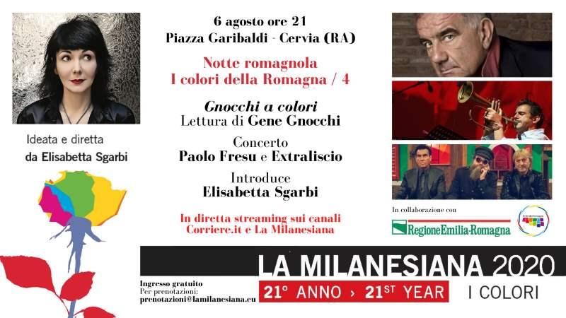 Gene Gnocchi a Cervia per La Milanesiana