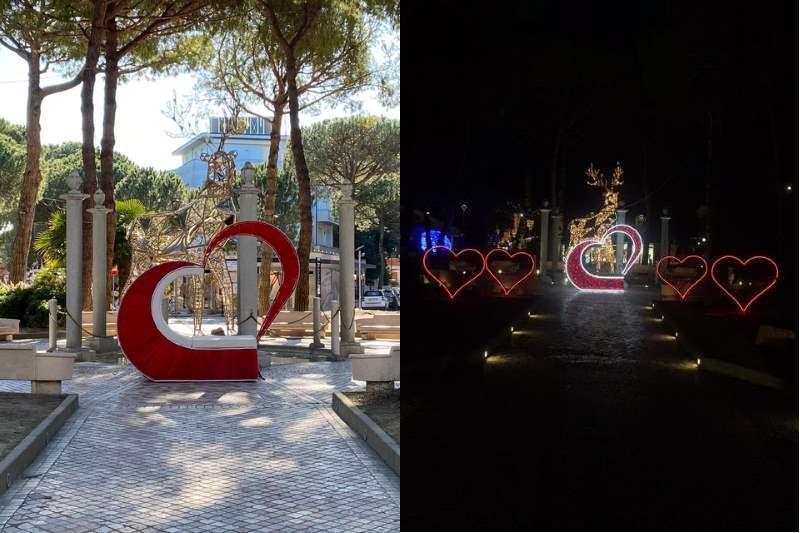 MiMa Wonderland, luci San Valentino